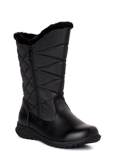 Women s Wide Width Winter Boots Walmart