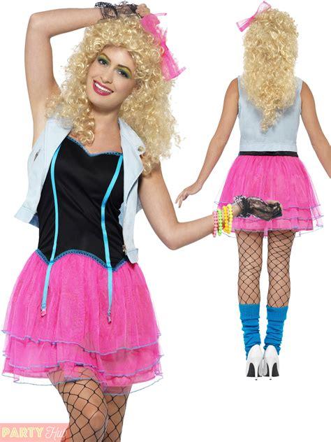 Womens 80s Fancy Dress eBay