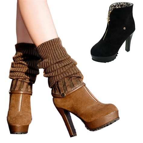 Womens Boots Ankle Knee High Ladies Boots Shoe Zone