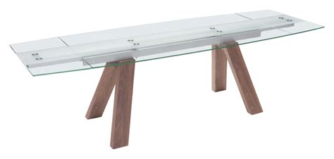 Wonder Extension Dining Table from Zuo Modern 100263