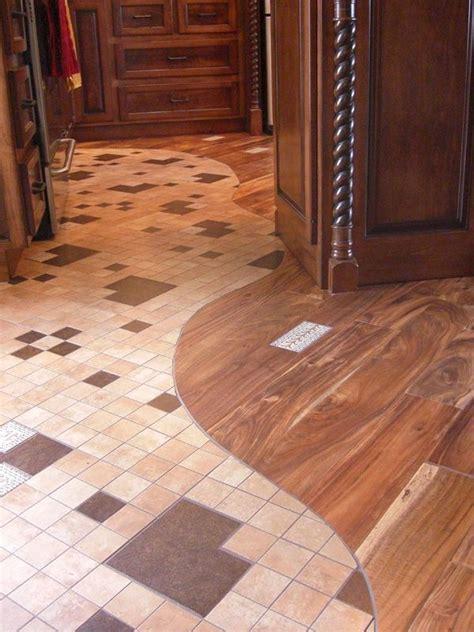 Wood And Tile Floor Combination Houzz