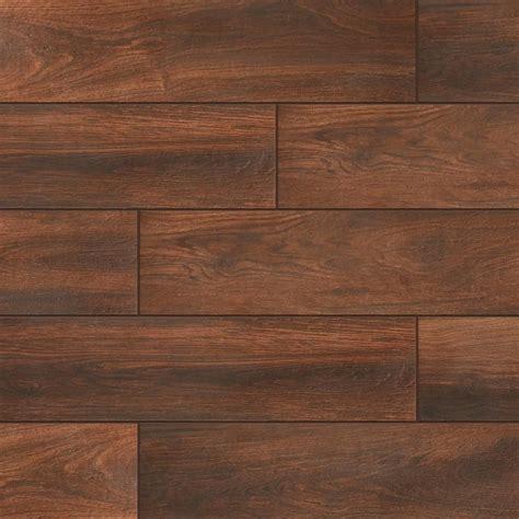 Wood Grain Ceramic Tile Tile Flooring The Home Depot
