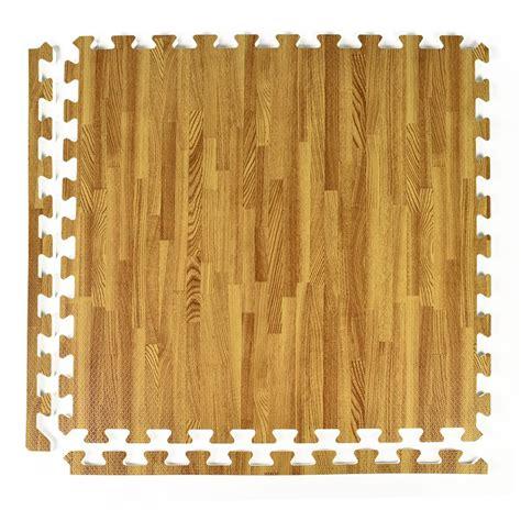 Wood Grain Foam Interlocking Floor Tiles Greatmats