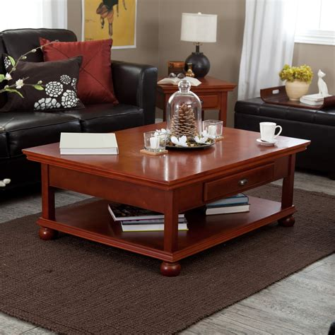 Wood Top Coffee Tables Hayneedle