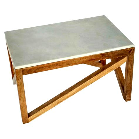 Wood and Marble Coffee Table Threshold Target