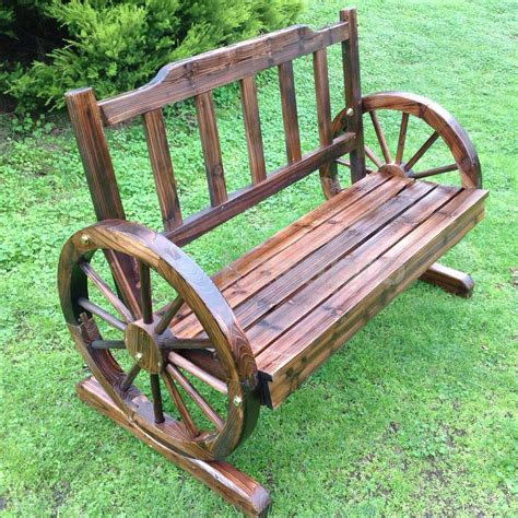 Wooden Garden Table eBay