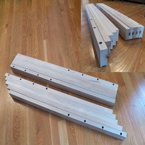 Wooden Table Slides