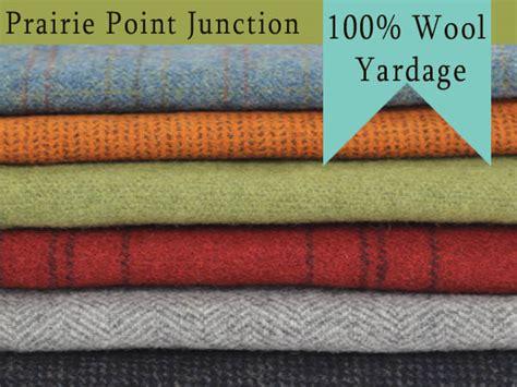 Wool Fabrics Prairie Point Junction