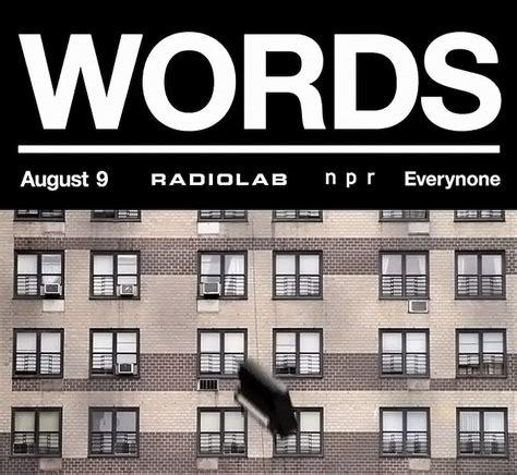Words Radiolab