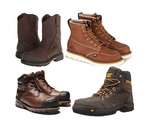 Work Boots For Men Working Person