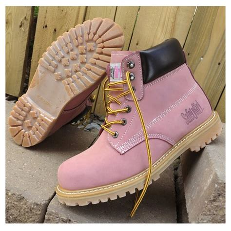 Work Boots Steel Toe Composite Toe Safety Girl