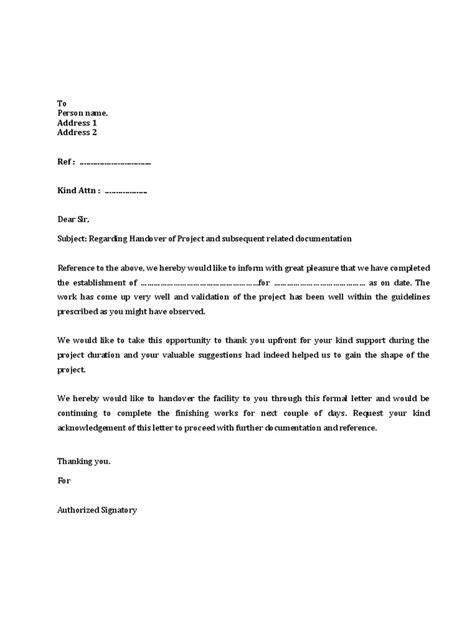 Work handover sample letter after resignmy designation is