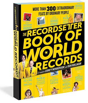 World Record Categories RecordSetter