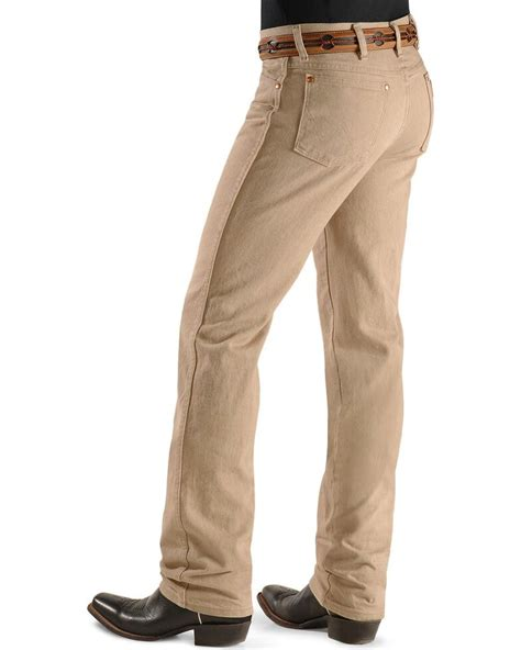 Wrangler Mens 936 Cowboy Cut Slim Fit jeans 13 fashion