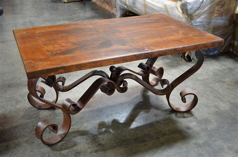Wrought Iron Coffee Table Iron Accents