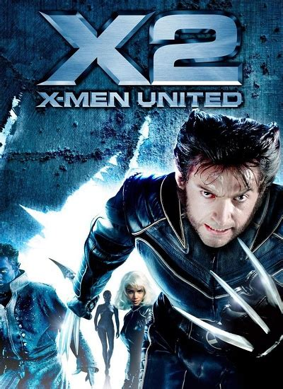 X Men 2 2003 Watch Online and Full Movie Download in HD 720p