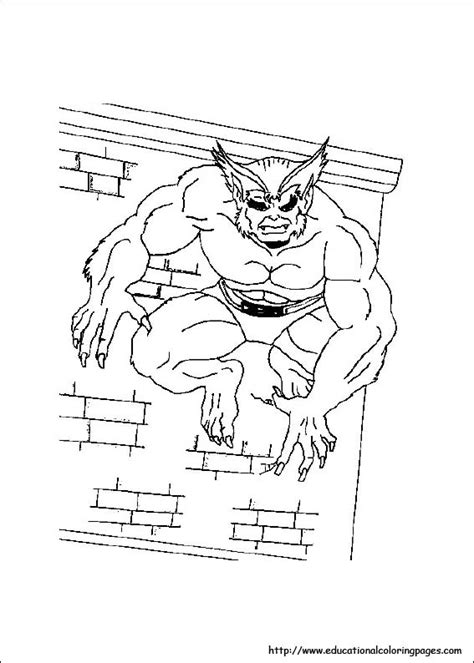 X man Coloring Pages Educational Fun Kids Coloring Pages