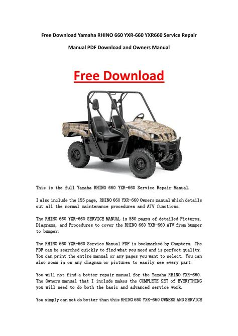 yamaha rhino wiring diagram images yamaha motorcycle yamaha rhino 660 owner s manual pdf