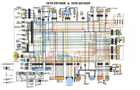 Yamaha 1100 Wiring Diagram