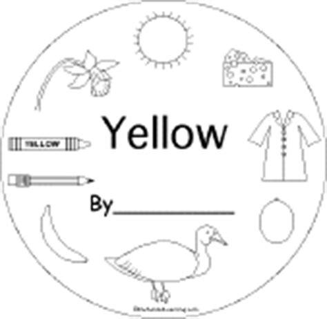 Yellow Things EnchantedLearning