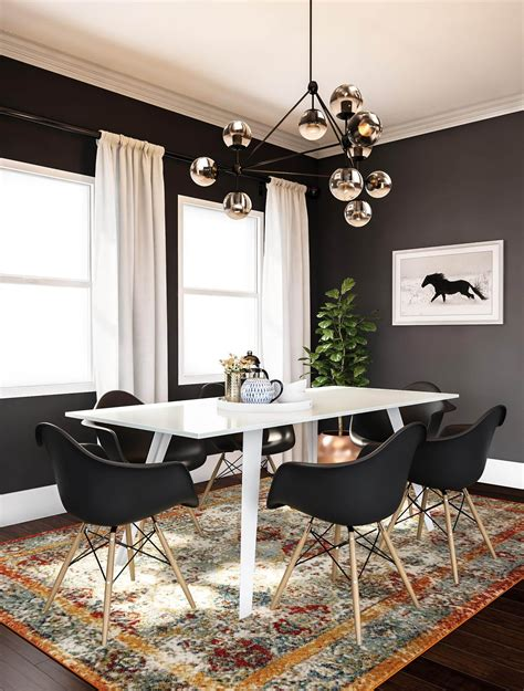 Yes Dining Room Rugs Can Be Practical If You Follow These