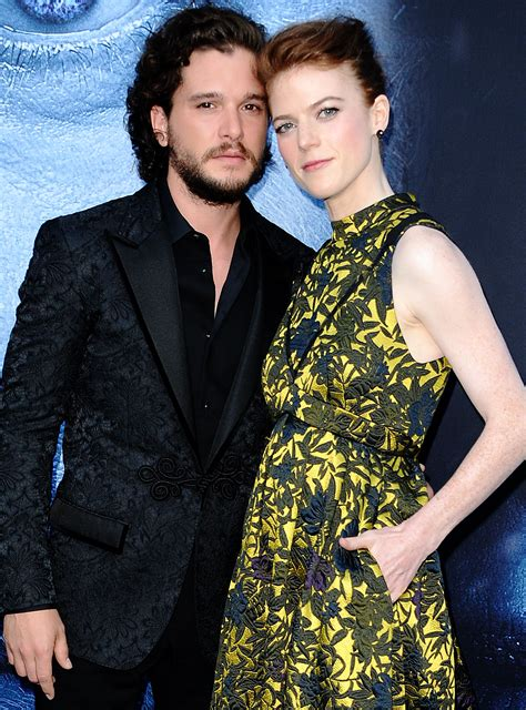 Ygritte Jon Snow Had The Strongest Red Carpet Game At