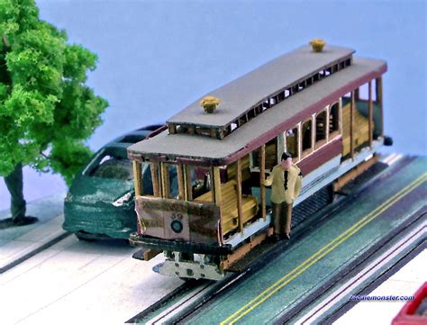 Z scale Animek Models Zscale Monster Trains
