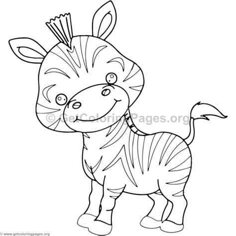 Zebra Coloring Pages GetColoringPages
