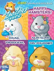 Zhu Zhu Pets Happy Hamsters Giant Coloring and Activity