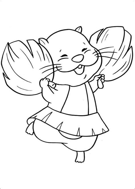 Zhu Zhu Pets coloring pages on Coloring Book info Pinterest