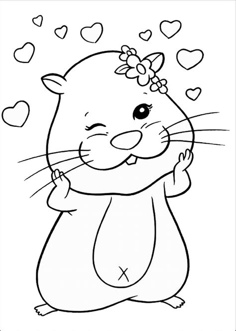 Zhu Zhu Pets coloring picture My coloring pages