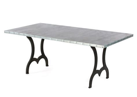 Zinc Dining Tables Design Ideas decorpad