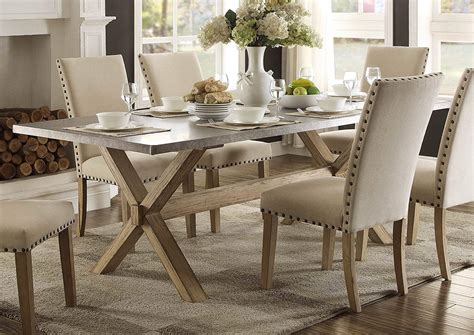 Zinc top dining table is it durable with kids GardenWeb