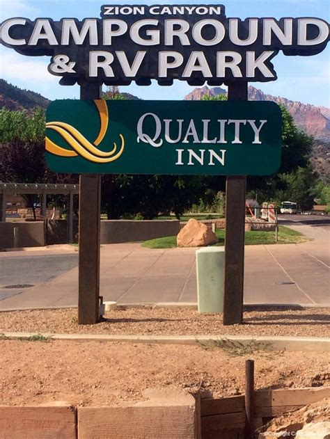 Zion Canyon Campground RV Park Springdale UT RV