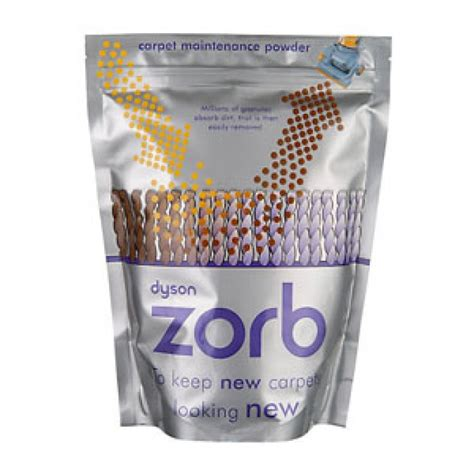 Zorb carpet cleaning powder Dyson vacuum cleaner
