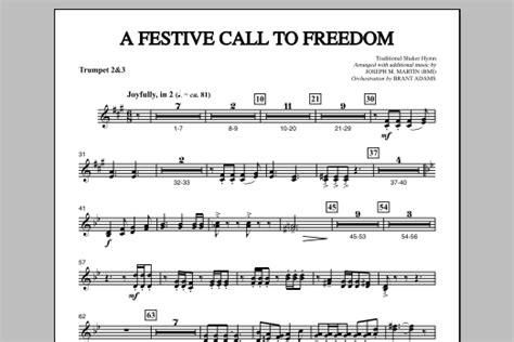 A Festive Call To Praise Bb Trumpet 2 3  music sheet