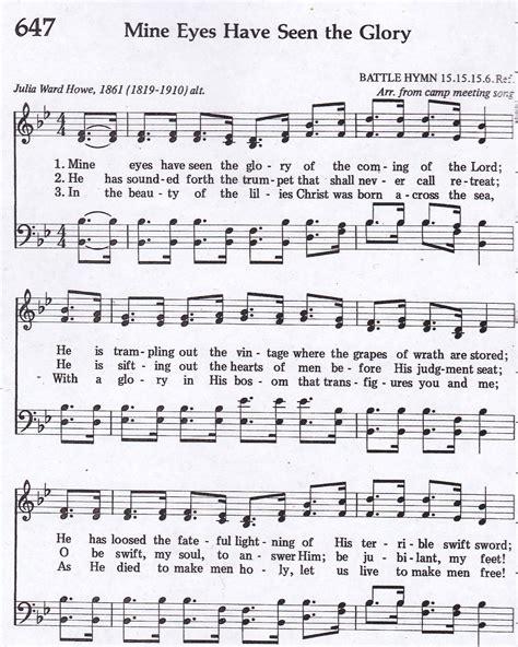 A Glorious Light Have Seen  music sheet
