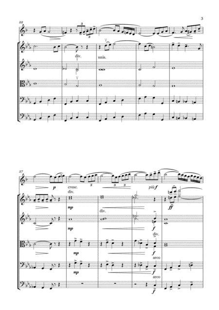A Petrov Melody For Trumpet And String Orchestra Score And Parts  music sheet