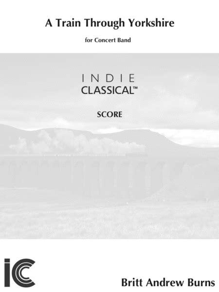 A Train Through Yorkshire For Band  music sheet