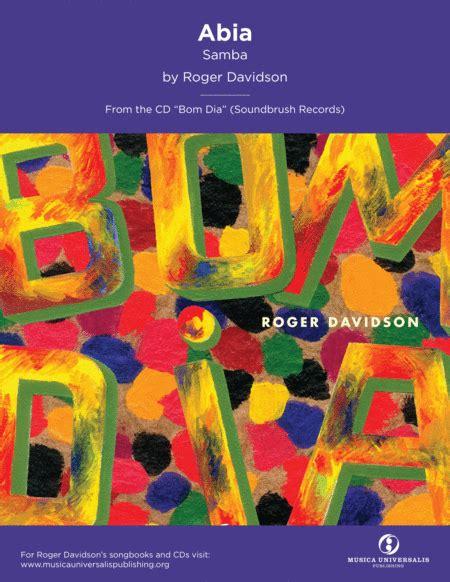 Abia Samba By Roger Davidson  music sheet