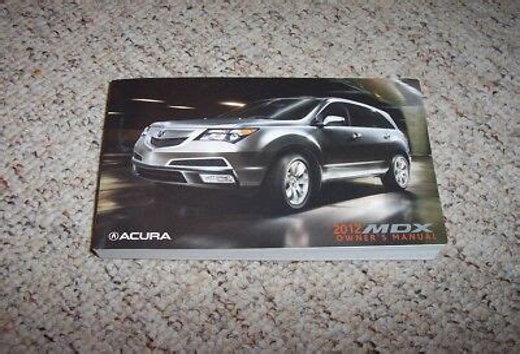 free download ebooks Acura Mdx 2012 User Manual.pdf