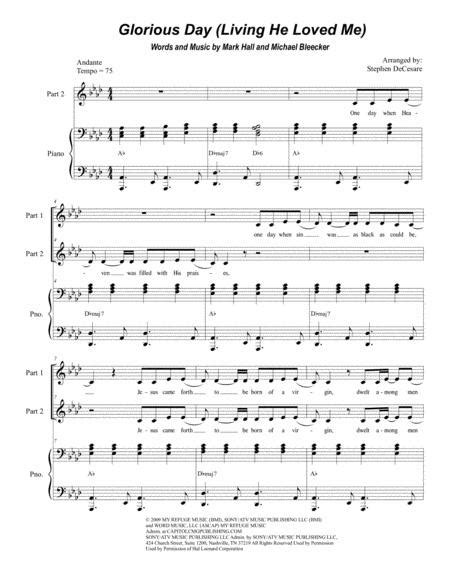 Adore Him For 2 Part Choir Sop Ten  music sheet