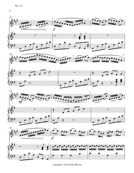 Advanced Clarinet Study 6 From The Blevins Collection Melodic Technical Studies For Bb Clarinet  music sheet