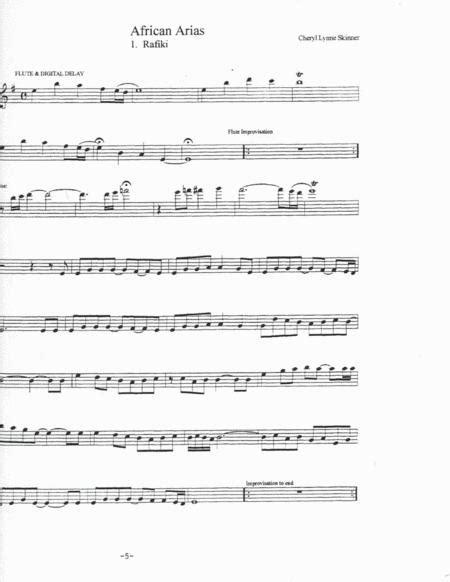 African Arias Leadsheet  music sheet