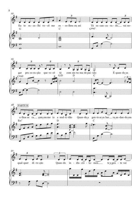 Ai J Era Jorge E Matheus Partitura E Cifra  music sheet