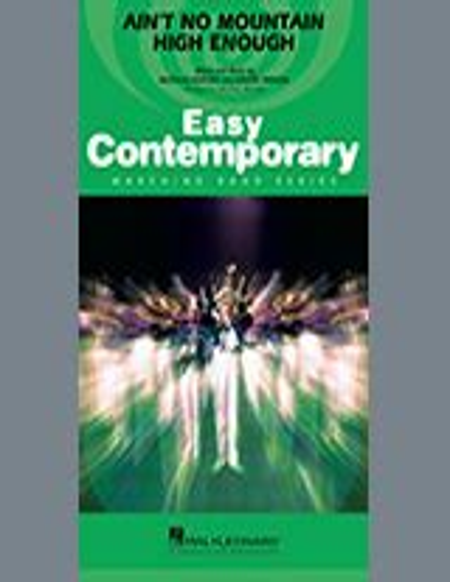 Aint No Mountain High Enough Arr Michael Brown Quad Toms  music sheet