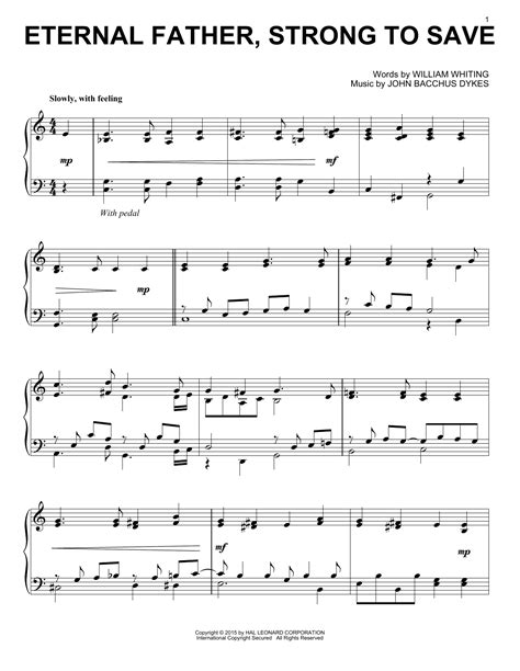 Almighty Father Strong To Save Bass Flute  music sheet