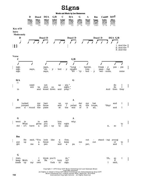 Among The Signs  music sheet
