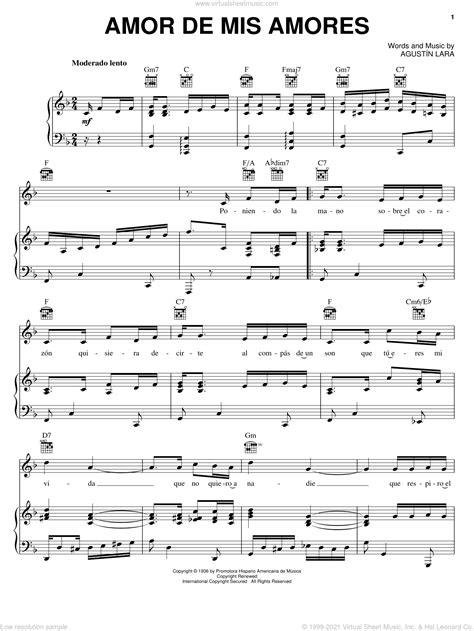 Amor De Mis Amores String Quartet Plcido Domingo Agustn Lara  music sheet