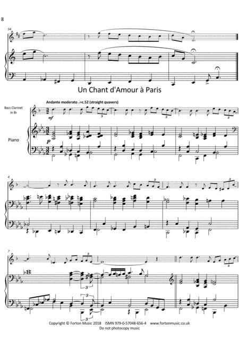 Anecdotes For Bass Clarinet Vol 2  music sheet